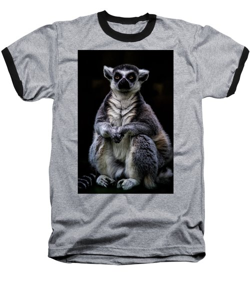 Baseball T-Shirt featuring the photograph Ring Tailed Lemur by Chris Lord