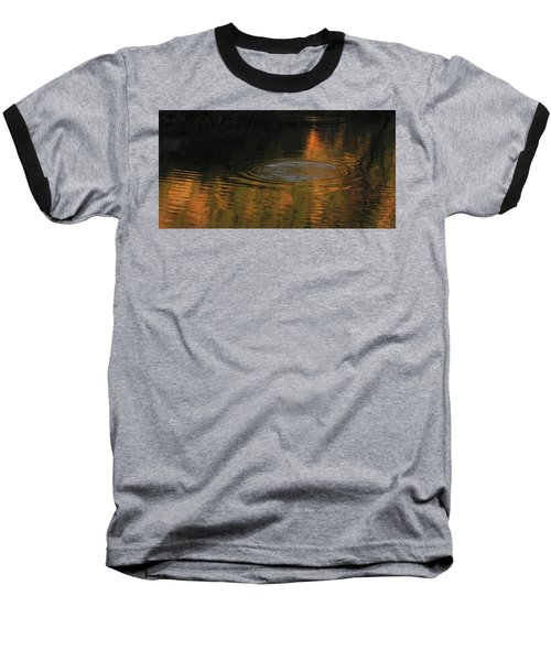 Baseball T-Shirt featuring the photograph Rings And Reflections by Suzy Piatt
