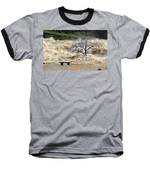 Baseball T-Shirt featuring the photograph Ringside Seat by AJ Schibig