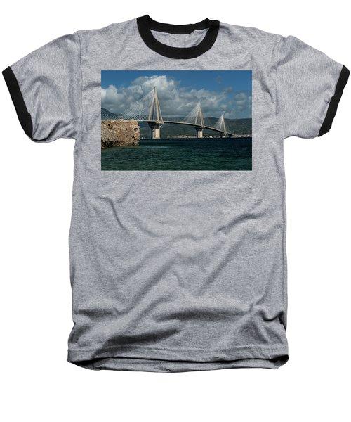 Rio-andirio Hanging Bridge Baseball T-Shirt