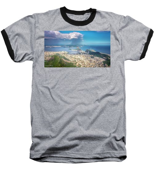 Baseball T-Shirt featuring the photograph Rio De Janeiro by Andrew Matwijec