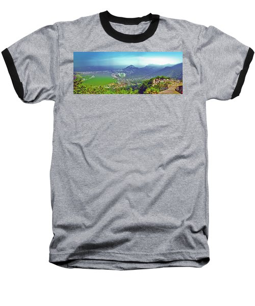 Rio De Janeiro Brazil Panorama Baseball T-Shirt