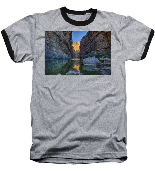 Rio Grand - Big Bend Baseball T-Shirt by Kathy Adams Clark