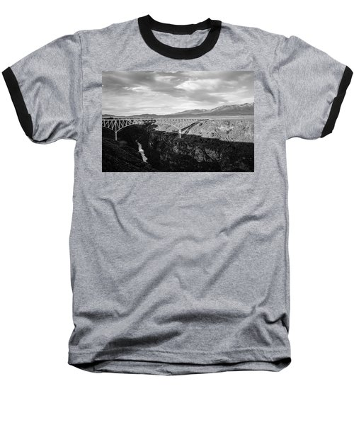 Baseball T-Shirt featuring the photograph Rio Grande Gorge Birdge by Marilyn Hunt