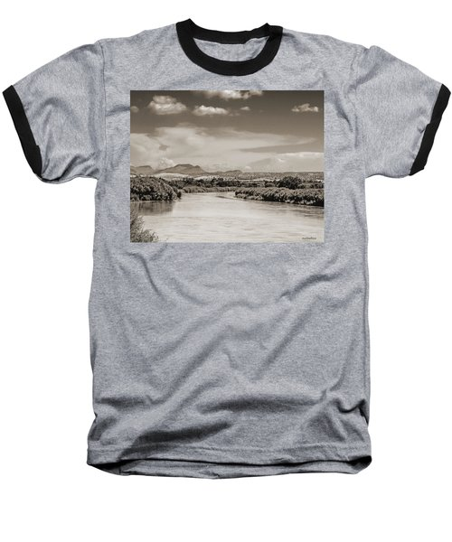Rio Grande In Sepia Baseball T-Shirt