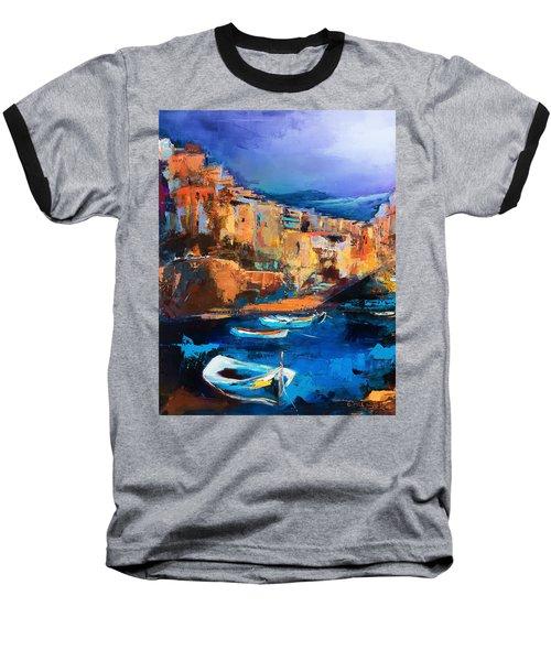 Riomaggiore - Cinque Terre Baseball T-Shirt