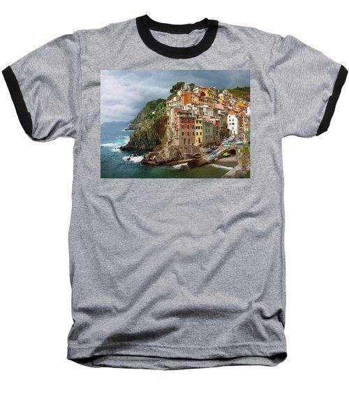 Riomaggiore Italy Baseball T-Shirt