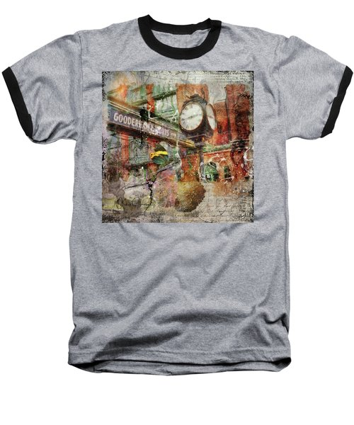 Riot Of Colour Distillery District Baseball T-Shirt