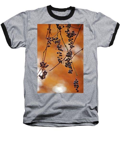 Ripe Wild Grapes  Baseball T-Shirt