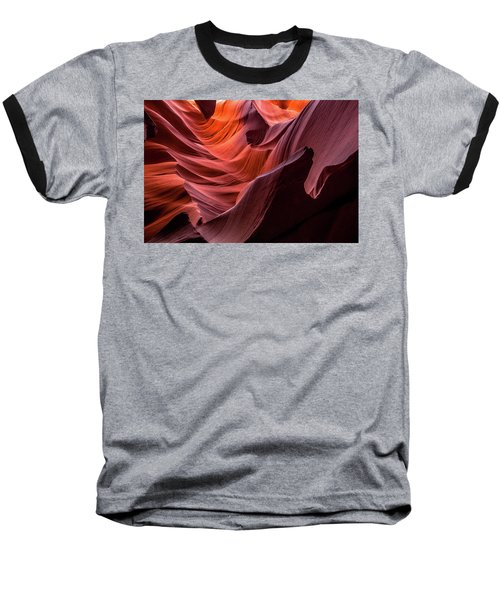 Ripple Of Color Baseball T-Shirt