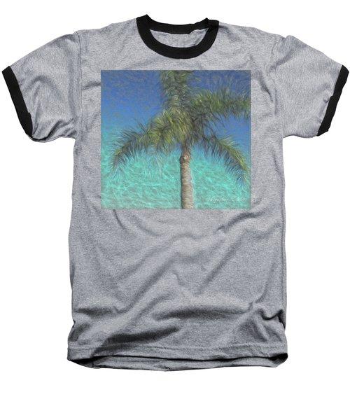 Rippled Palm Baseball T-Shirt