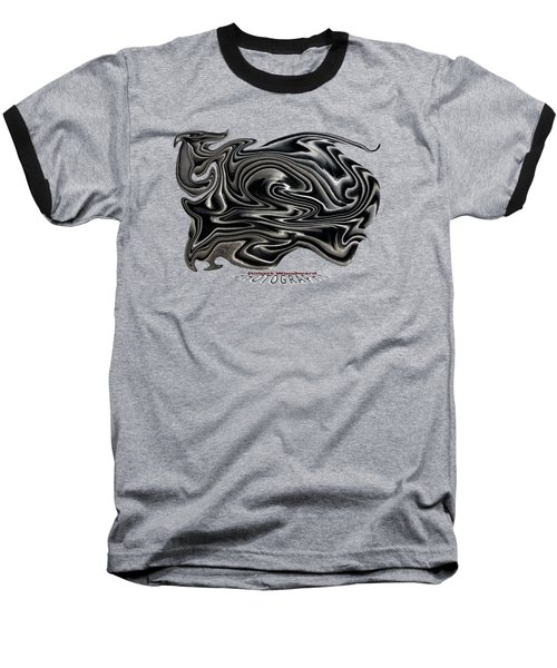 Rippled Ripples Transparency Baseball T-Shirt