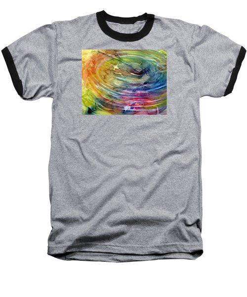 Ripples Baseball T-Shirt by Allison Ashton