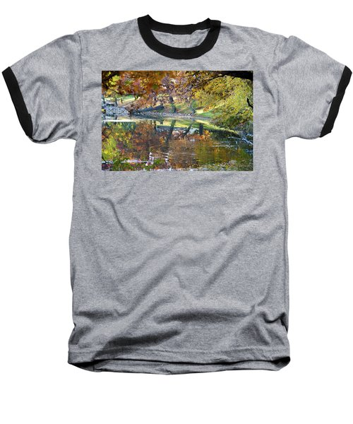 Ripples In An Autumn Lake Baseball T-Shirt