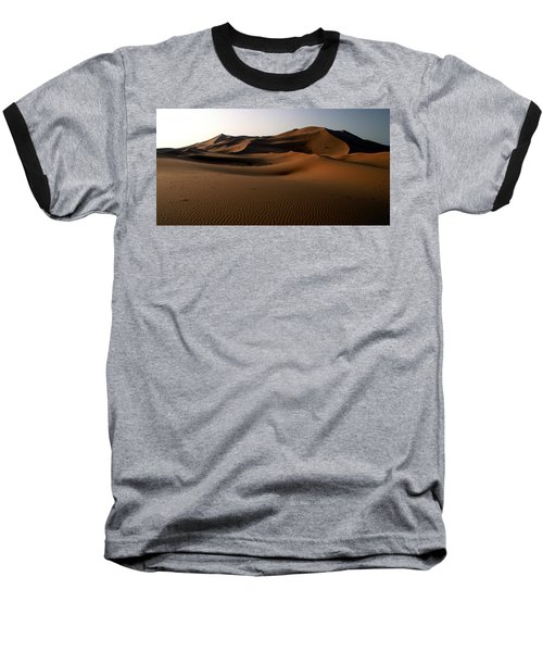 Ripples In The Sand Baseball T-Shirt by Ralph A  Ledergerber-Photography