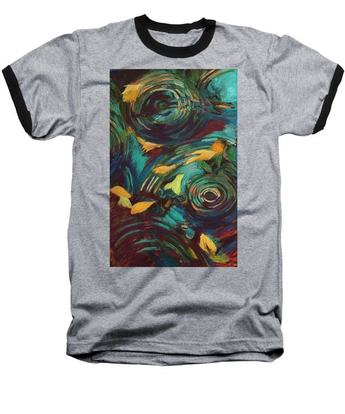 Ripples In Time Baseball T-Shirt