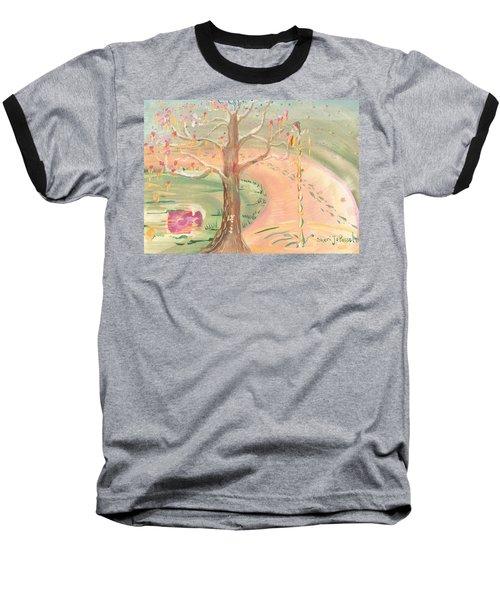 Ripples Of Spring Baseball T-Shirt