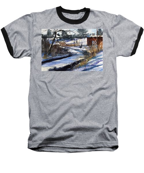 Rippleton Road River Baseball T-Shirt by Judith Levins