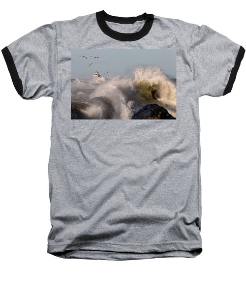 Baseball T-Shirt featuring the photograph Rise Above The Turbulence by Everet Regal