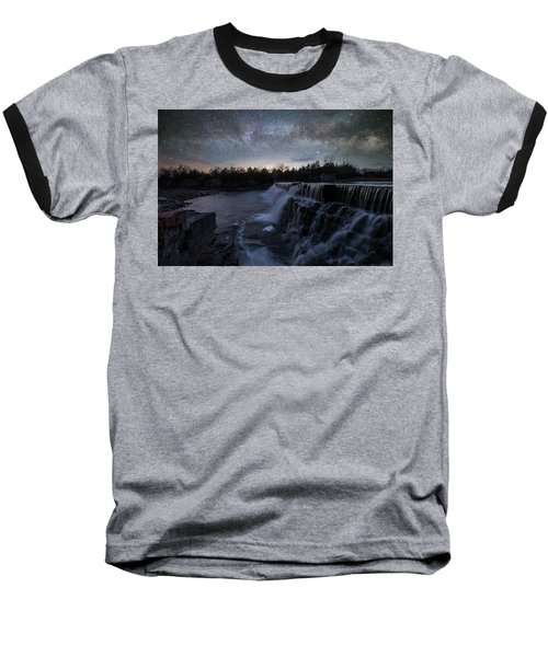 Rise And Fall Baseball T-Shirt