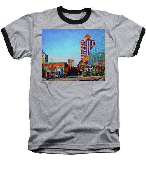 Rise And Shine Baseball T-Shirt by Bonnie Mason
