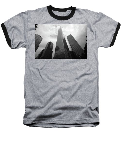 Baseball T-Shirt featuring the photograph Risen Out Of The Rubble by John Schneider