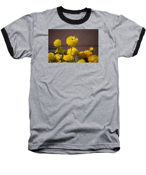 Rising Above The Crowd Baseball T-Shirt by Morris  McClung