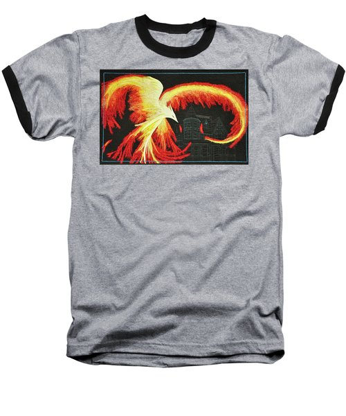 Rising From The Ashes Baseball T-Shirt