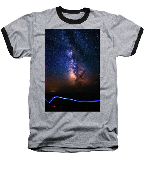 Rising From The Clouds Baseball T-Shirt