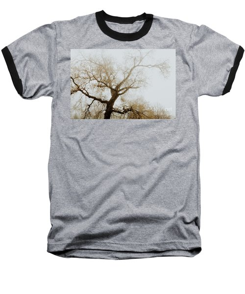 Baseball T-Shirt featuring the photograph Rising by Iris Greenwell