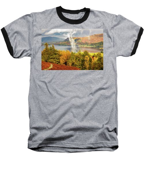 Rising Mist Baseball T-Shirt