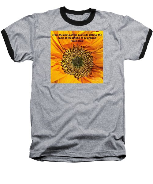 Rising Of The Sun Baseball T-Shirt