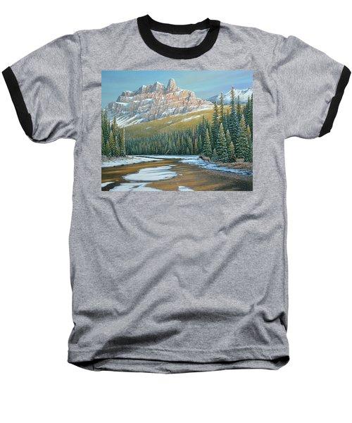 Rising Over The Valley Baseball T-Shirt