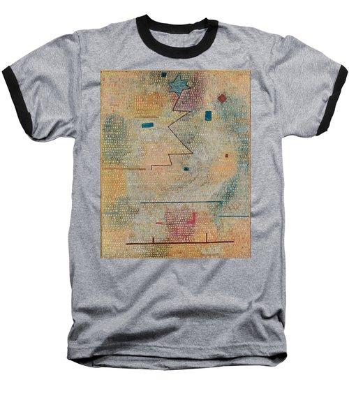 Rising Star  Baseball T-Shirt by Paul Klee