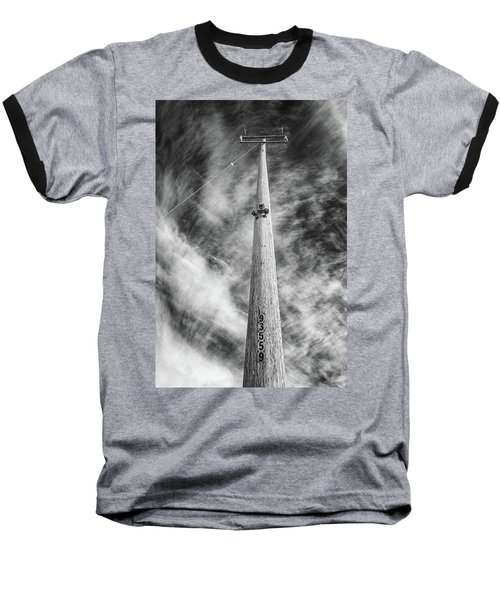 Rising To The Heights Baseball T-Shirt by Greg Nyquist