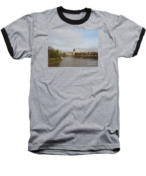 River Arrival To Libourne Baseball T-Shirt
