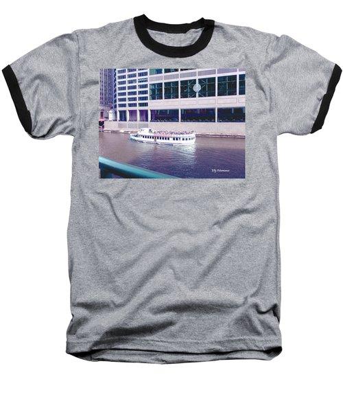 River Boat Tour Baseball T-Shirt