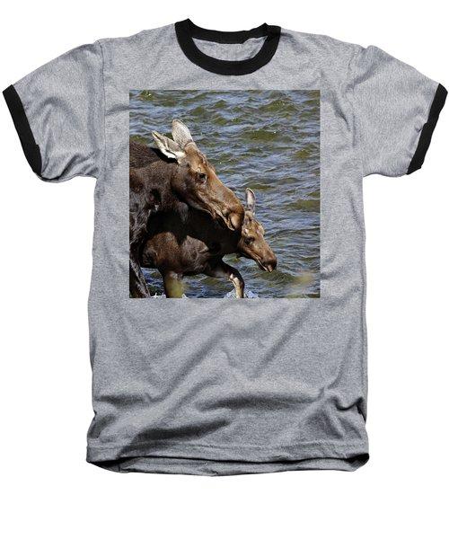 River Crossing Baseball T-Shirt