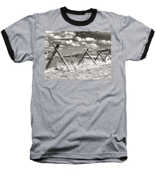 River Drama Baseball T-Shirt