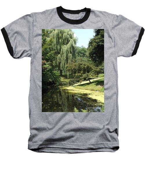 River Flows Through Baseball T-Shirt