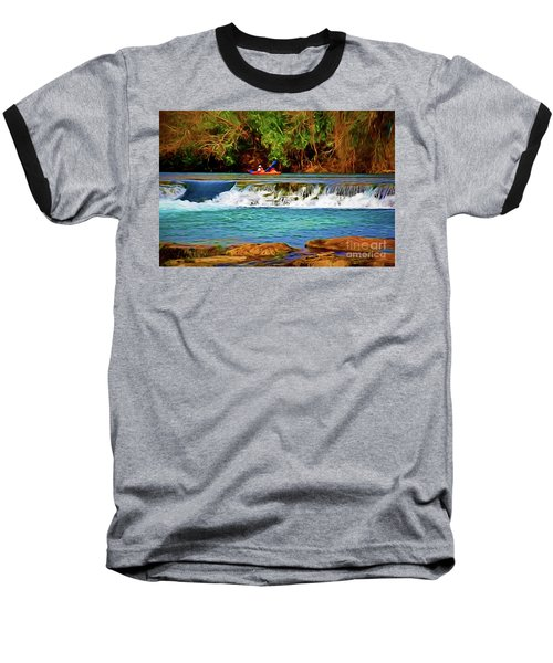 River Good Times 121217-1 Baseball T-Shirt