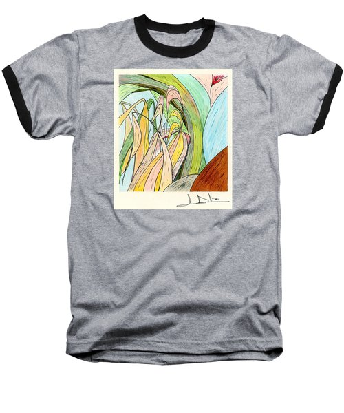 River Grass Baseball T-Shirt