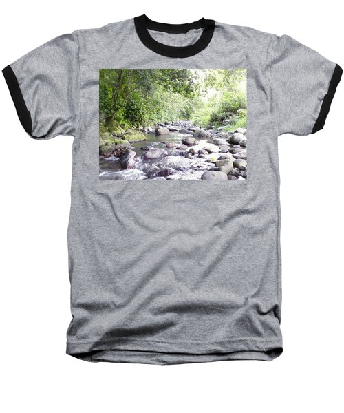 River In Adjuntas Baseball T-Shirt