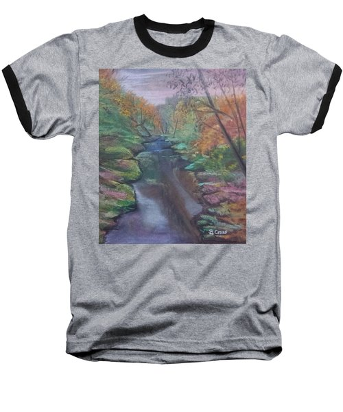 River In The Fall Baseball T-Shirt