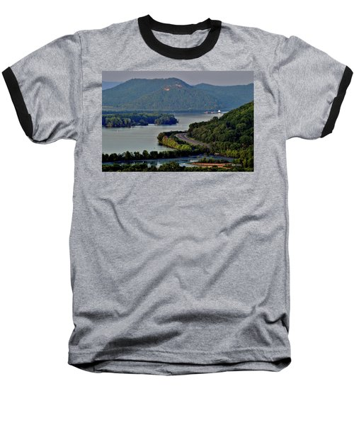 River Navigation Baseball T-Shirt