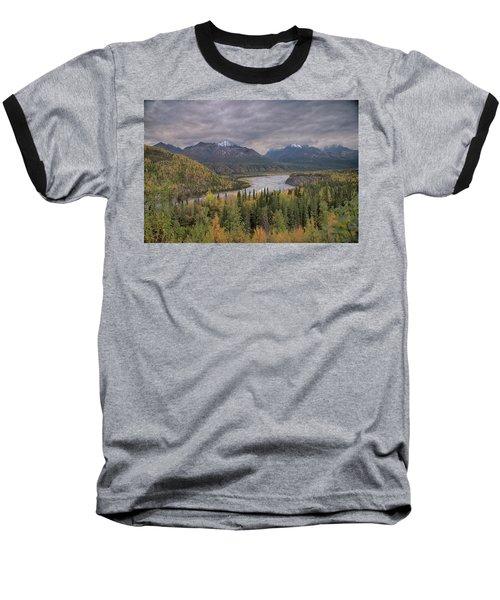 River Of Gold Baseball T-Shirt