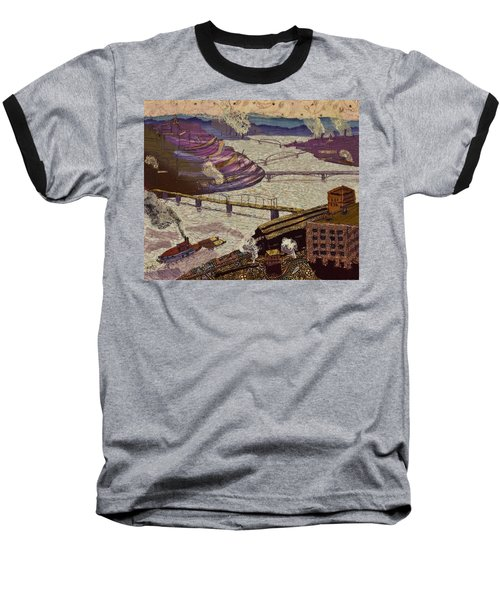 River Of Industry Baseball T-Shirt