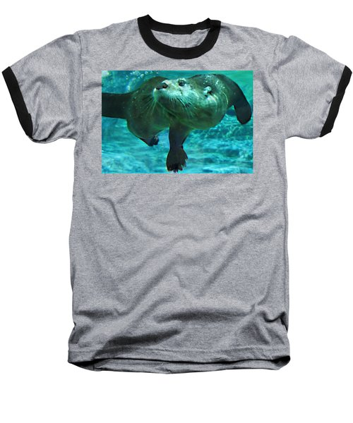 River Otter Baseball T-Shirt