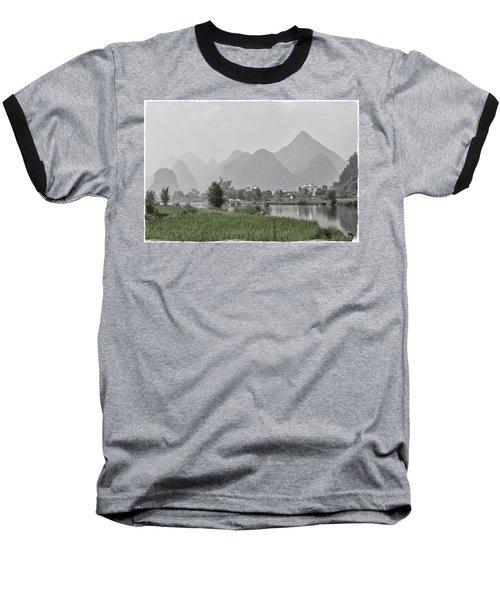 River Rafting Baseball T-Shirt