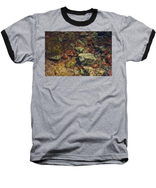 River Rocks Baseball T-Shirt